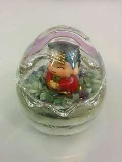 Glass egg - decorative