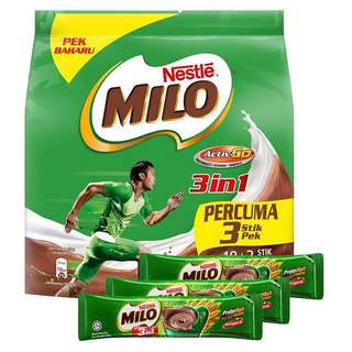 Milo 3in1 18+3 sticks