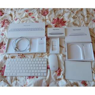 Apple Magic keyboard, Trackpad, Mouse 2nd generation 二代 2代 magic