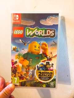 Switch Lego Worlds (2 Bonus packs).