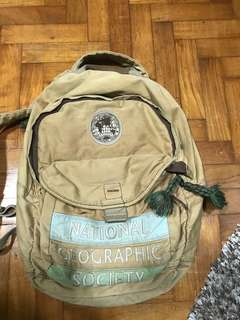 Rare National Geographic Bag