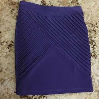 Tempt purple skirt