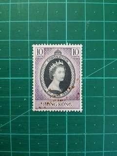 1953 伊莉莎白二世加冕紀念 新票一套