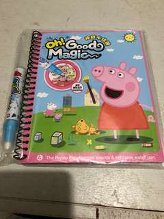 Peppa pig themed boards & refillable water pen