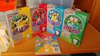 全新4部日版Pokemon 2DS 連 CD 精靈寶可夢