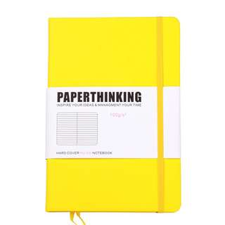 [PO] Yellow A5 Bullet Journal Notebook