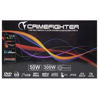 "CRIMEFIGHTER 6.95"" TOYOTA ANDROID GPS BLUETOOTH 2 DIN DVD PLAYER"