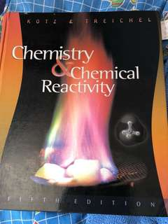 Chemistry and reactivity