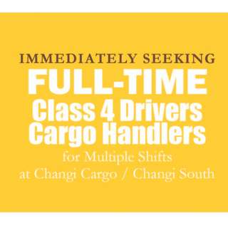 Driver Class 4/Handler (East/Up to $2700/mth)