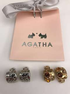 Agatha ear-clips