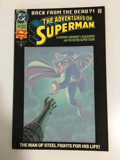 The Adventures Of Superman Back From The Dead?