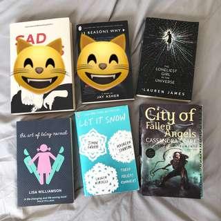 paperbacks for sales!