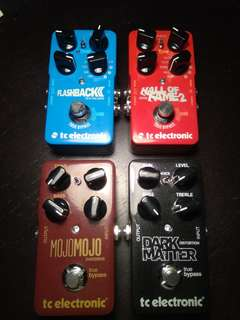 TC Electronic pedals