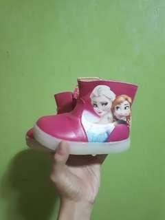 Frozen Pink Boots