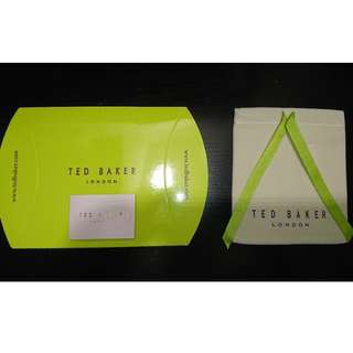 Ted Baker Jewelry Pouch 首飾袋 + Gift Box 禮盒