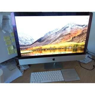 Apple iMac 27 Retina 5K Late 2015 i5 3.3Ghz 8gb 2TB 頂級版 保養2020