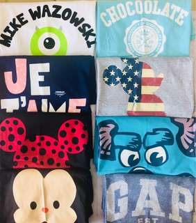 T shirt (Chocolate//GAP//Disney)