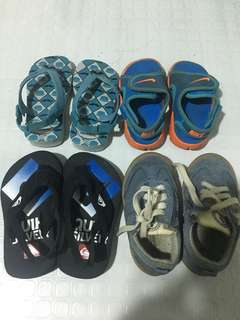 Assorted branded shoes & slippers