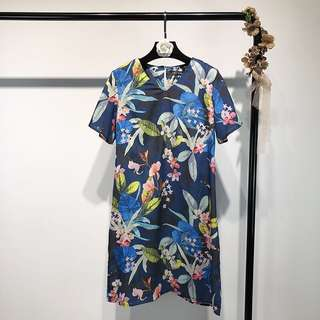 🔥2018 Europe and US Floral Dress