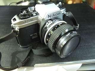 Nikon fg-20 菲林相機