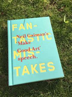 Neil Gaiman - 'Make Good Art' Speech (Hardbound)