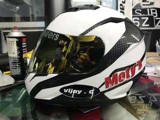 Custom decal for your helmet!!