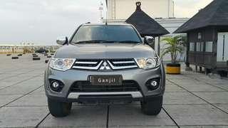 Mitsubishi Pajero Sport Exceed 2.5 at 2014 abu2 metalik