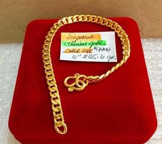 24k solid Bracelet Genuine Gold