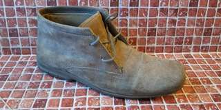 RJ leather shoes suede
