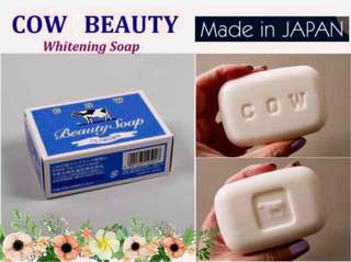 COW BEAUTY SOAP Made in Japan 🇯🇵