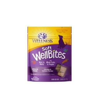 –25% Wellness® Soft WellBites Chicken & Venison Dog Treats 170g