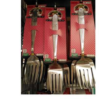 Japan quality - garpu sayur besar stainless steel