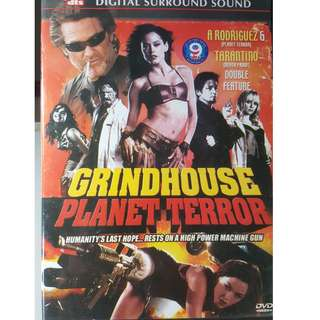 DVD - PLANET TERROR (2007) action horror rose mcgowan josh brolin bruce willis