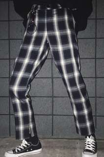 BN CHECKERED PANTS / TROUSERS