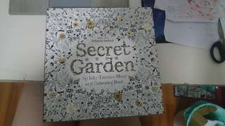 Colouring book Secret Garden & Enchanted Forest
