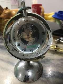 Vintage Heineken Globe Clock