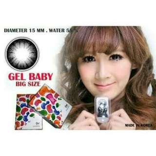 GEL BABY BLACK,CHOCO (MINES ONLY)