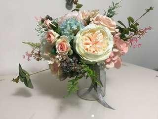 婚後物資-絲花花球
