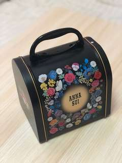 Anna Sui collectible carrier container