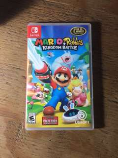 Switch game Mario & Rabbids Kingdom Battle