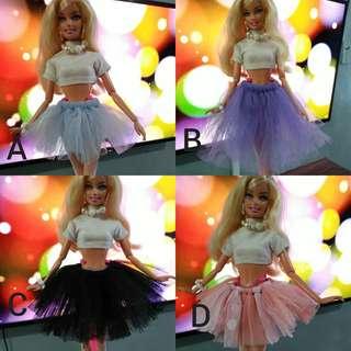 Tutu skirtfor barbie