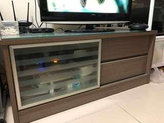 电视柜+2张凳子