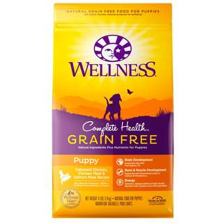 –20% Wellness® Complete Health Grain-Free Puppy Dry Dog Food