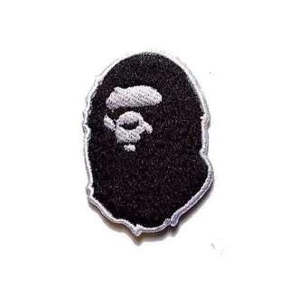 Bathing Ape Iron On Patch