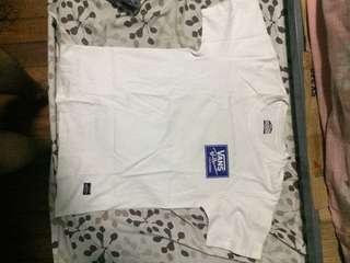 Vans White Shirt