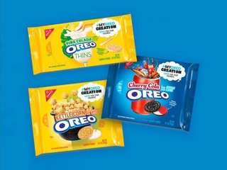 Oreo creations new flavours - Piña Colada, Cherry Cola and Kettle Corn. (US)