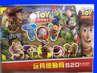 520 pieces Puzzle(玩具總動員&怪獸大學)