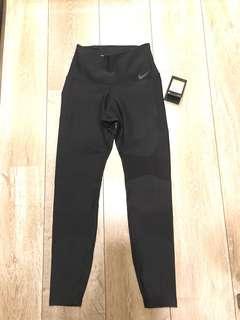 全新 nike 黑色 訓練褲 S號