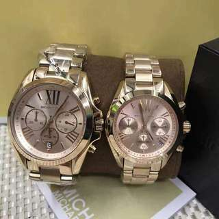 Mk Watch AUTHENTIC 1 year warranty(couple watch)