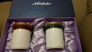🚚 Noritake 對杯組